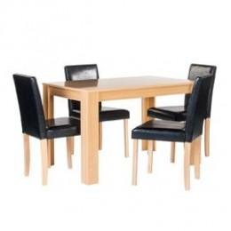 Cambridge Oak Stylish Dining Set