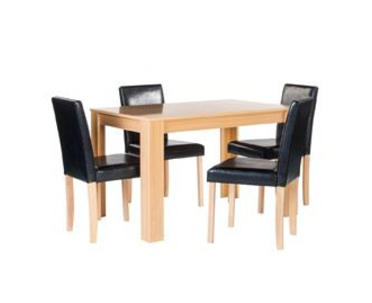 Cambridge Oak Stylish Dining Set