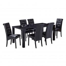 Monroe Puro Large Dining Table Black