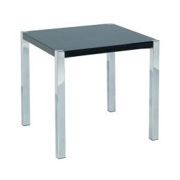 Contemporary Novello Black End Table