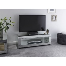 Capri Cube TV Unit Mirrored