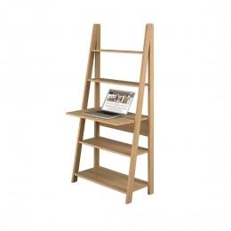 Versatile Contemporary Tiva Ladder Desk Oak