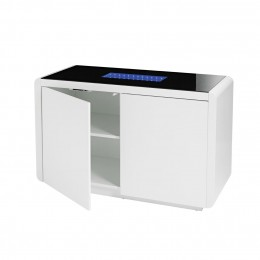 Matrix White High Gloss Funky Sideboard