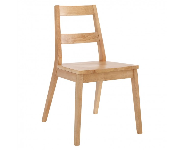 Malmo Chair White Oak Pack of 2