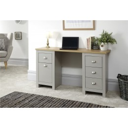 Lancaster Living Room Study Desk Grey