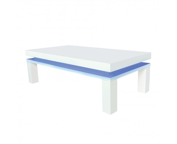 Milano Coffee Table with Blue LED