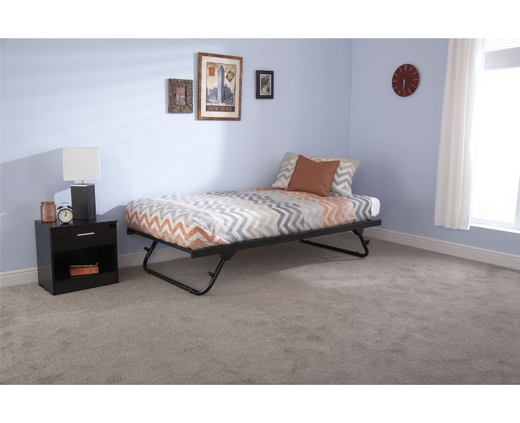 3FT Single 90cm Memphis Trundle Only Black