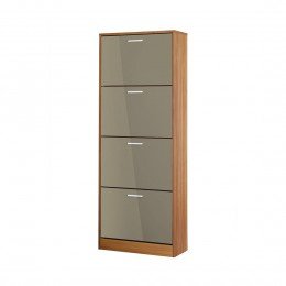 Strand 4 Drawer Shoe Storage Grey