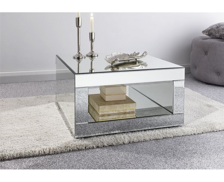 Capri Coffee Table Mirrored