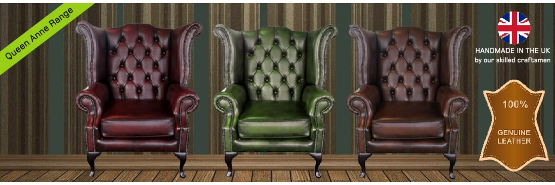 Chesterfield Queen Anne Chair Range