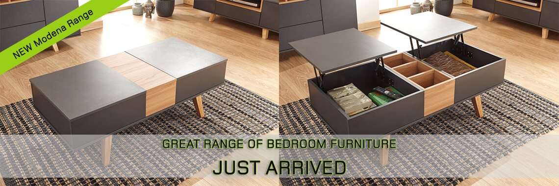Modena Double Lifting Coffee Table
