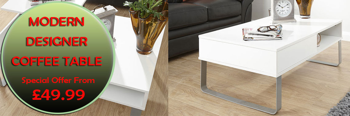 Modern Designer Coffee Table Range