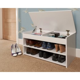 Modern Barcelona Lift Up Cabinet in White Colour