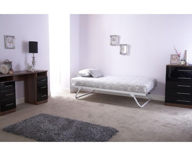 Contemporary French Style White Madison Trundle Bed