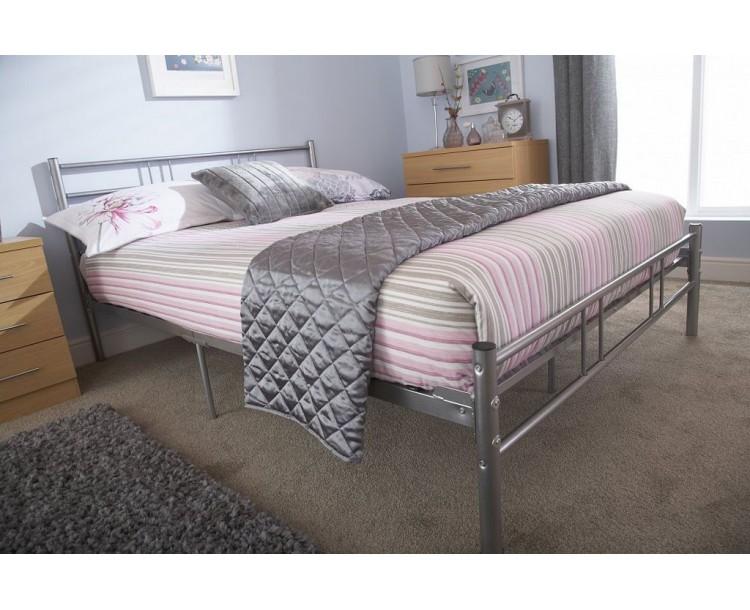 Morgan 3ft Single Metal Bed