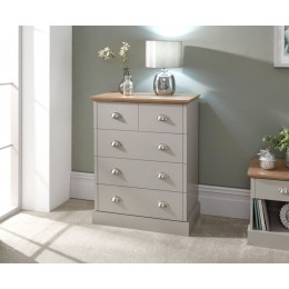 Contemporary Bedroom Grey Kendal 2 + 3 Chest of Drawers