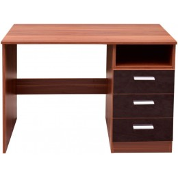 Contemporary Ottawa Black Walnut High Gloss Bedroom Desk