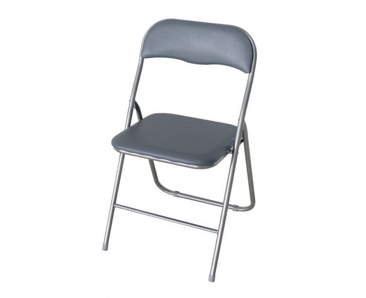 Folding Computer Chair Silver