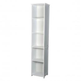 Alaska Tall Storage Unit White