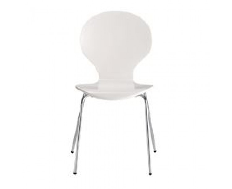 Ibiza Dining Chair White (Pack of 4)