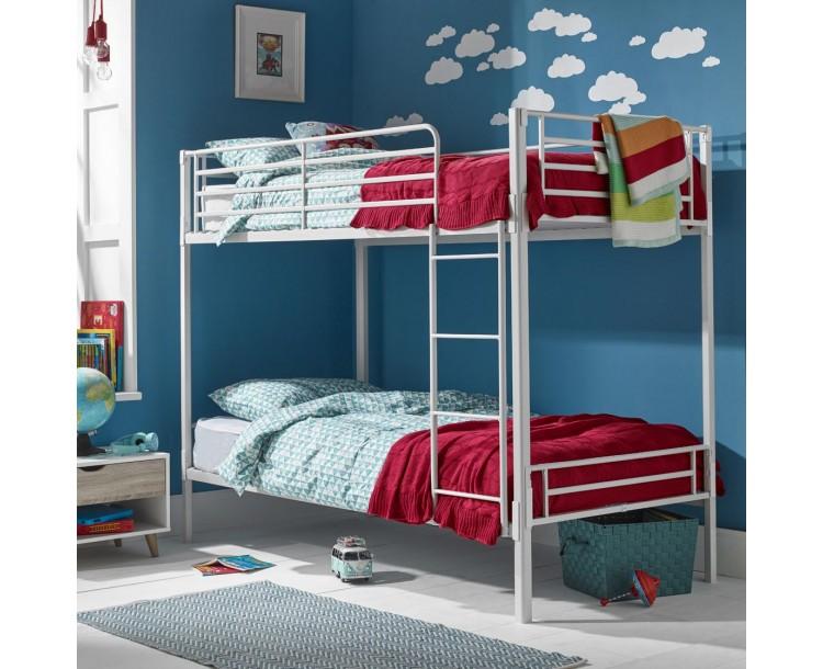 Apollo Bunk Bed White