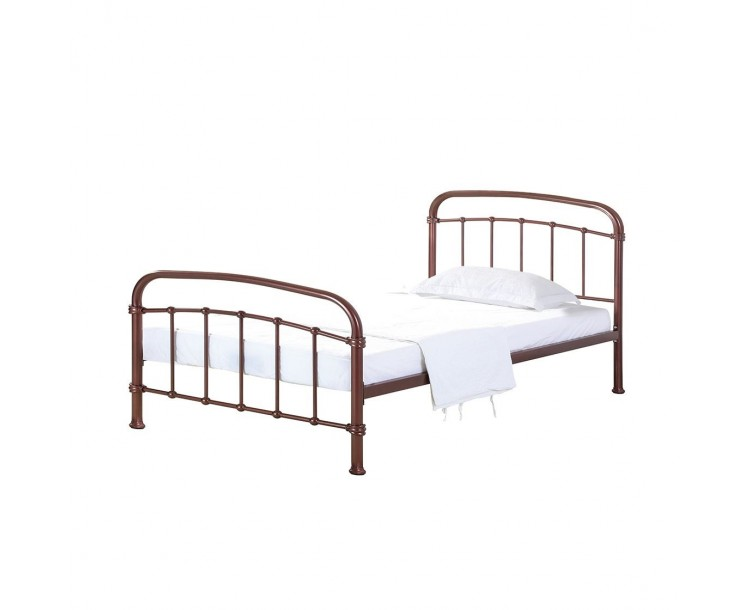 Halston Copper Traditional Design 3FT Single Bed