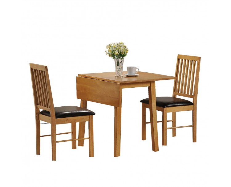 Palma Traditional Dining Set with Extendable Top