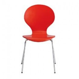 Ibiza Dining Chair Red (Pack of 4)