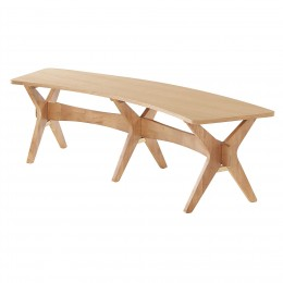Malmo Bench White Oak