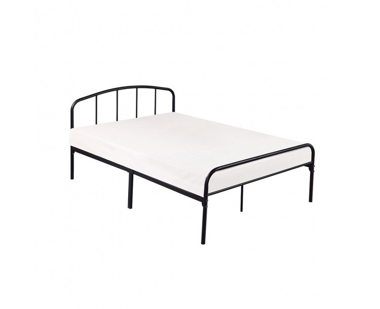 Milton 4FT Small Double Bed Black