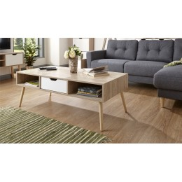 Stockholm Coffee Table White Oak