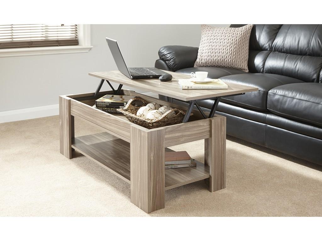 Fantastic Julie Lift Up Storage Coffee Table In Walnut Living Room Uwap Interior Chair Design Uwaporg