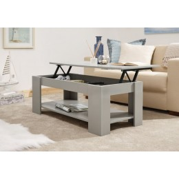 Multi-Storage Classic Grey Lift Up Top Coffee Table