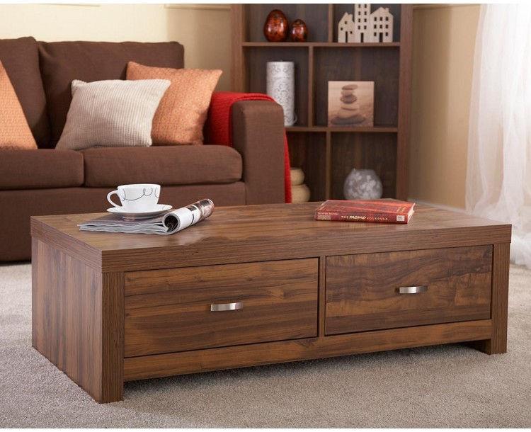 Hampton Acacia Living Room Coffee Table Unique Warm Design