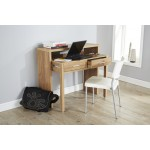 Regis Extending Modern Console Table in Oak