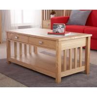 Royal Oak Solid Ash Veneer Modern Design Coffee Table