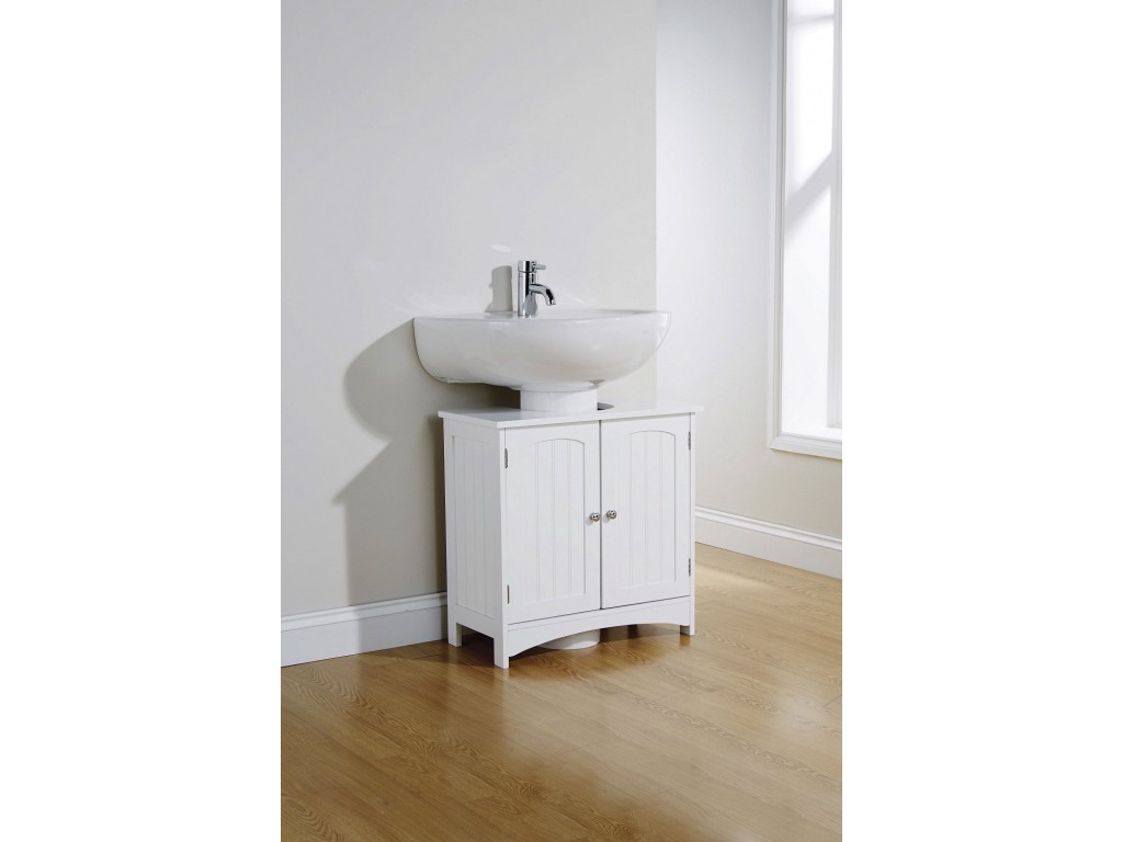Swell Colonial Modern White Bathroom Under Sink Cabinet Download Free Architecture Designs Jebrpmadebymaigaardcom