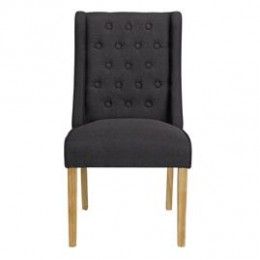 Verona Chair Charcoal Pack of 2