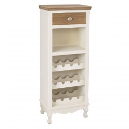 Juliette Wine Rack Cream