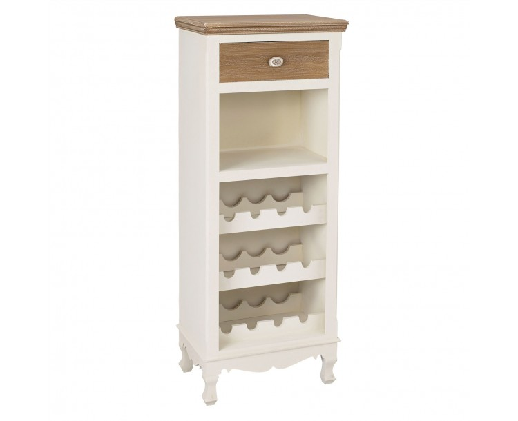 Juliette Cream Compact Wine Rack