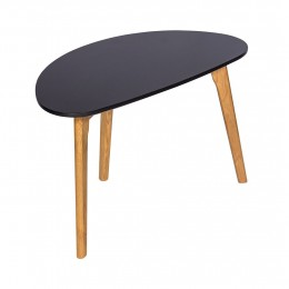 Astro Sleek Scandinavian-inspired Coffee Table Black