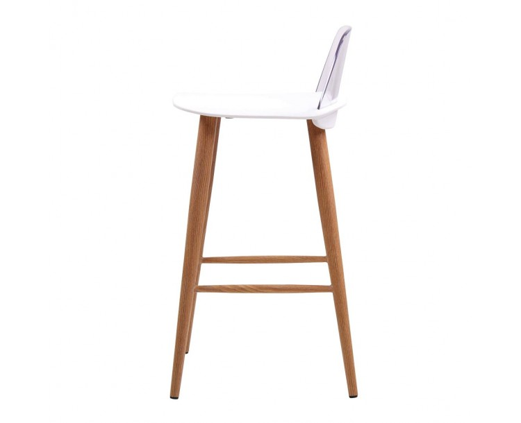Chelsea Bar Stool White Pack of 2