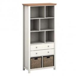 Costwold Bookcase Cream