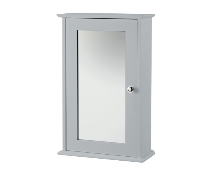 Alaska Wall Cabinet With Mirror Grey