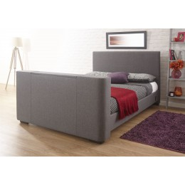 Newark 5ft Kingsize 150cm Electric TV Bed Grey