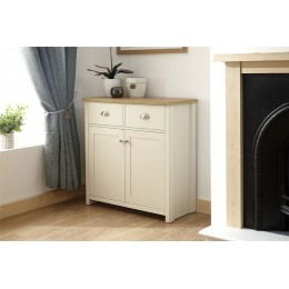Lancaster Living Room Compact Sideboard Cream
