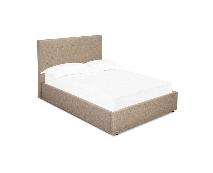 Lucca Plus 4FT Small Double Bed Beige
