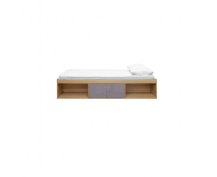 Dakota Oak Grey Compact Cabin Bed