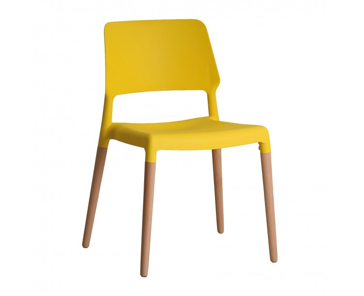 Riva Bright Yellow Chair Pack of 2