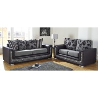 Crystal Amalfi 3+2 Seat Deep Fill Fabric Living Room Sofas